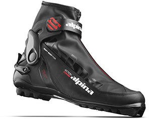 Alpina Sports A Combi Cross Country Skate Classic Cross Country Ski Boots, Euro 37, Black/Red