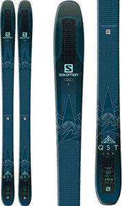 SALOMON QST Lux 92 Skis Womens Dark Blue/Light Blue Sz 153cm