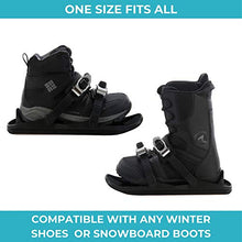 Load image into Gallery viewer, Snowfeet Mini Ski Skates for Snow The Short Skiboard Snowblades