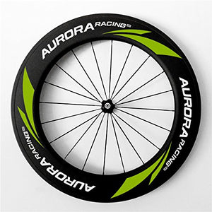 AURORA RACING Road Bike Carbon Fiber Wheels Clincher 88mm deep 25mm Width Pillar1432 Spokes Novatec Hub 20/24 Holes