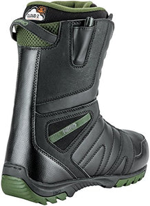 Nitro Snowboards SUBSTANCE13 Men's Sentinel TLS '18 Snow Boot, Men, Sentinel TLS'18, Black, 26