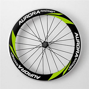 Aurora Racing 60mm deep 20.5mm Width Clincher Triathlons/time Trials Aero Carbon Fiber Wheelset Straight Pull Hub 20/24 Holes
