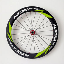 Load image into Gallery viewer, AURORA RACING Carbon Wheelset 60mm Clincher 25mm Width Racing Road Bike Carbon Wheels For Shimano 10/11