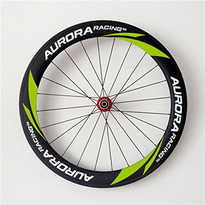 AURORA RACING Carbon Wheelset 60mm Clincher 25mm Width Racing Road Bike Carbon Wheels For Shimano 10/11