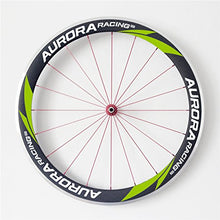 Load image into Gallery viewer, AURORA RACING U Shape Aurora Road Bike 50mm deep 20.5mm Width Carbon Clincher Wheelset Alloy Brake