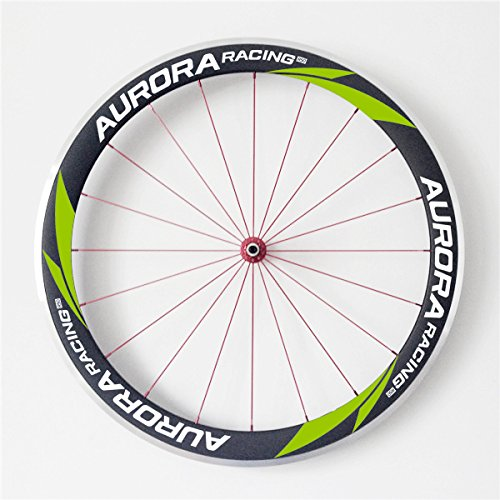 AURORA RACING U Shape Aurora Road Bike 50mm deep 20.5mm Width Carbon Clincher Wheelset Alloy Brake