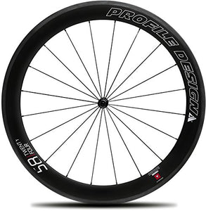 Profile Designs 58/TwentyFour Full Carbon Clincher Front Wheel Size: