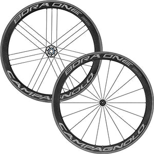 Campagnolo Bora One 50 Wheelset - Clincher Dark Label, Campagnolo Freehub