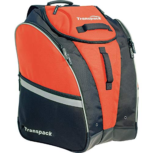 Transpack Competition Pro Ski Boot Bag 2019 - Orange-Silver Electric