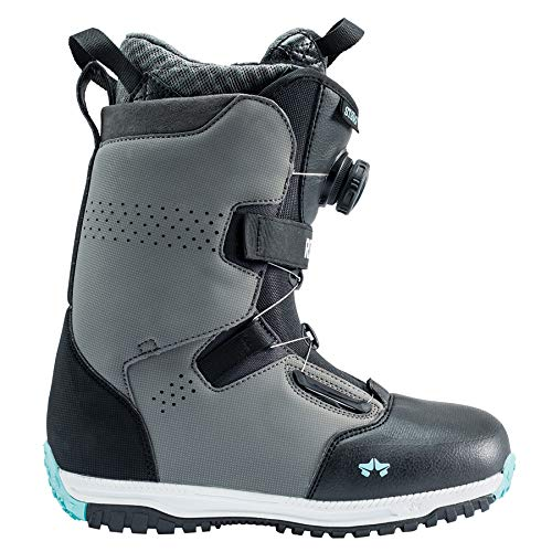 Rome Snowboards Stomp Snowboard Boots - Women's, Slate Mint, 7