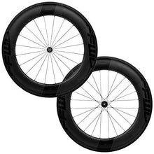 Load image into Gallery viewer, FFWD Wheels | F9R FCC DT350 | 90mm Tubeless Carbon Clincher Wheel Set DT Swiss DT350 11 Speed Black