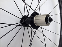 Load image into Gallery viewer, AURORA RACING 50mm Carbon Clincher Wheelset Racing Bike Powerway Hub CN Spokes