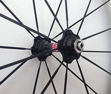 Load image into Gallery viewer, AURORA RACING Road Bike Carbon Fiber Wheels Clincher 88mm deep 25mm Width Pillar1432 Spokes Novatec Hub 20/24 Holes