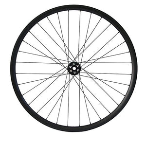 "Hulk-sports 29"" Disc Brake Mountain Bike Wheelset Tubeless MTB Bicycle Carbon Wheels Hookless 32 Holes UD Matte Quick Release Wheelset"