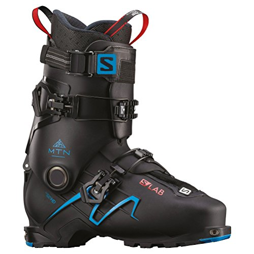 SALOMON S-Lab MTN Alpine Touring Boots - 29.5/Black-Transcend Blue