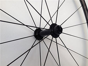 AURORA RACING 50mm Carbon Clincher Wheelset Racing Bike Powerway Hub CN Spokes