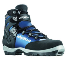 Load image into Gallery viewer, Alpina Women's BC-1550 Eve Back-Country Nordic Cross-Country Ski Boots, for use with NNN-BC Binding, Black/Blue, 39