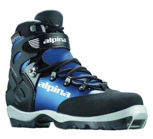 Alpina Women's BC-1550 Eve Back-Country Nordic Cross-Country Ski Boots, for use with NNN-BC Binding, Black/Blue, 39