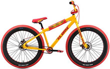 Load image into Gallery viewer, SE Fat Ripper 26 BMX Bike Yellow Mens Sz 26in