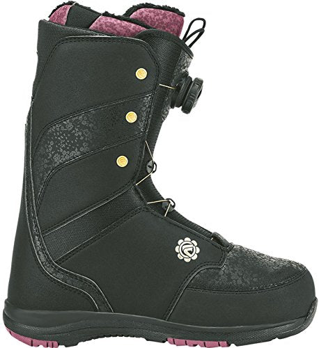 Flow Onyx Boa Coiler Snowboard Boot - Women's Black, 10.0
