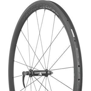 Profile Designs 38 TwentyFour Carbon Clincher Wheelset V2 Stealth Black/UD Carbon, Shimano/SRAM 11 Speed