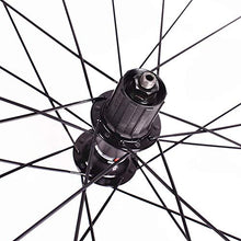 Load image into Gallery viewer, Ybriefbag-Sports Bicycle Wheel Carbon Fiber Mountain Bike Wheel Set Support 8-9-10 Speed Cassette Hub Wheel Quick Release MTB Mountain Bike