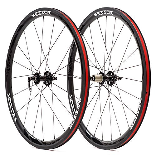 Essor USA Carbon Clincher Cyclo Cross CX Wheel Set, Front + Rear, 38mm Volo