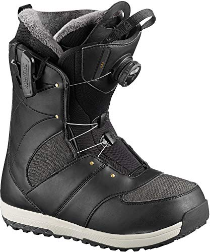 Salomon Snowboards Ivy Boa Snowboard Boot - Women's Black, 9.0