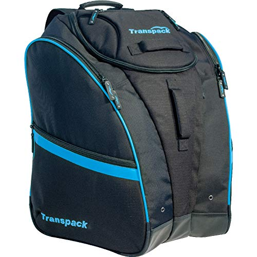 Transpack Competition Pro Ski Boot Bag 2018 - Black-Blue Electric