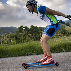 KV+ Launch Classic Roller Skis (73 cm) (Slow wheels)