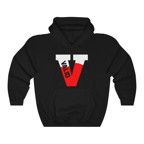 W Big V Hooded Sweatshirt