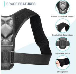 Posture Corrector (Adjustable to Multiple Body Sizes)
