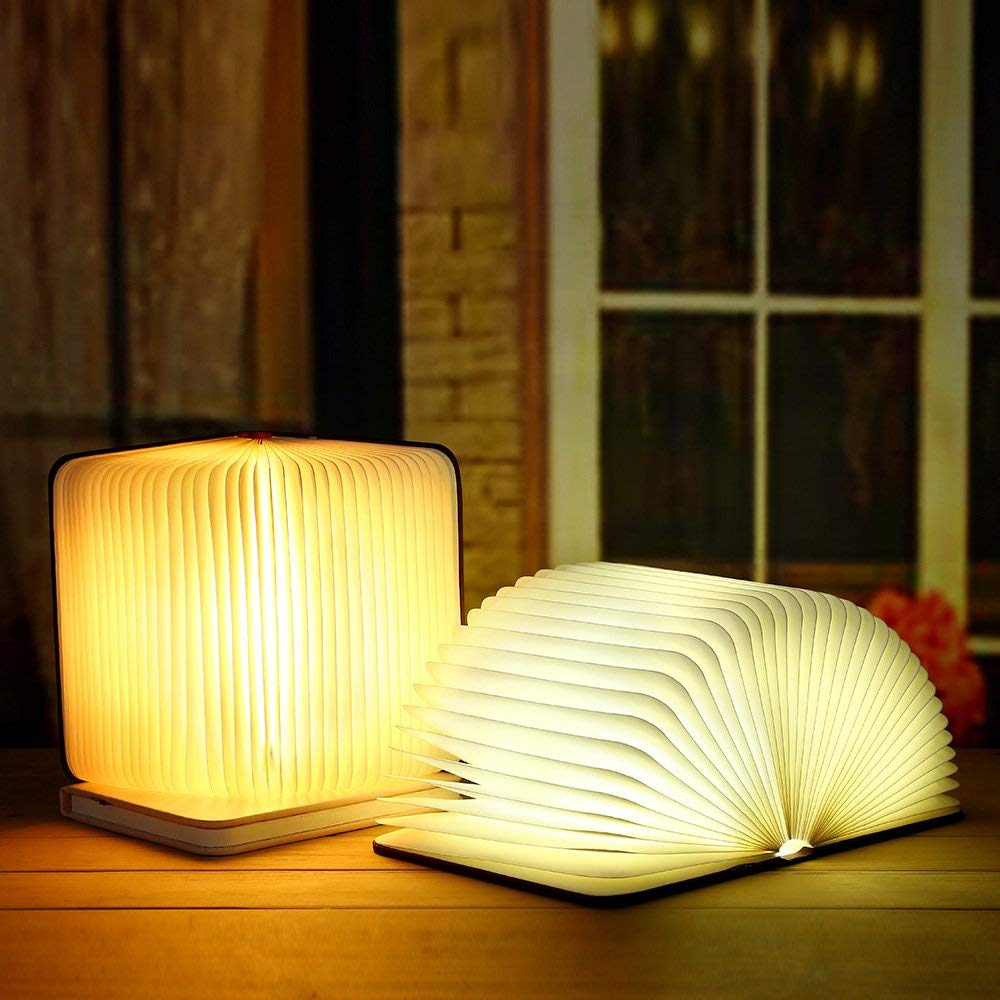 RADIANT BOOK LAMP (BLUETOOTH MUSIC)