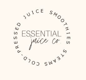 Essential is a Black-Owned Company that just launched in April! We offer freshly made plant-based products for the whole family: cold pressed juice, smoothies, and steams. Each bottle is packed with vitamins, herbs and minerals that feed your mind, body, and soul! Check out our website for our wide variety of products