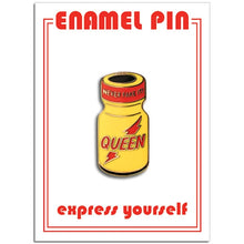 Load image into Gallery viewer, Poppers Enamel Pin - The Gay Bar Shop