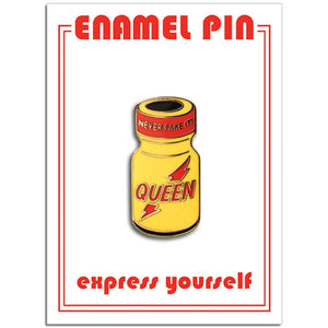 Poppers Enamel Pin - The Gay Bar Shop