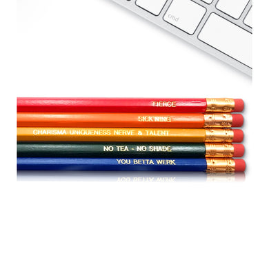 Gay Pride Ru Paul Drag Race Pencils - The Gay Bar Shop