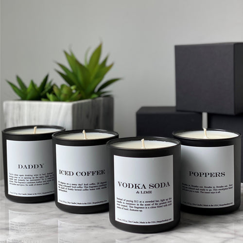Signature Candle Gift Set (back in stock mid-June) - The Gay Bar Shop