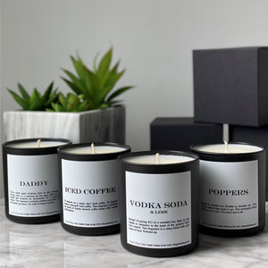 Vodka Soda & Lime Candle - The Gay Bar Shop