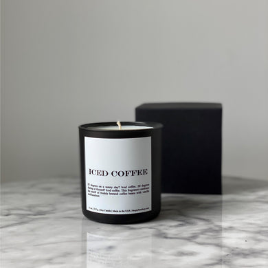 Iced Coffee Candle - The Gay Bar Shop