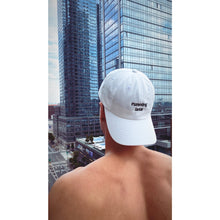 Load image into Gallery viewer, Running Late Dad Hat - White - The Gay Bar Shop