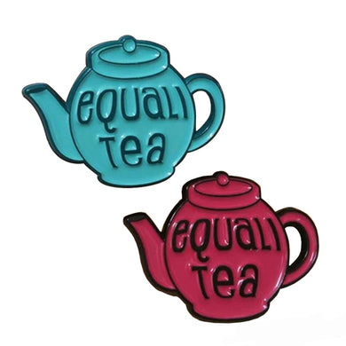 Equali Tea Equality Pin Set - The Gay Bar Shop