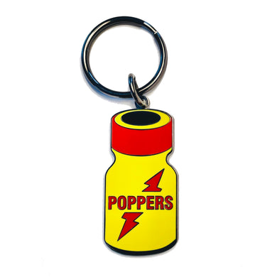Poppers Keychain - The Gay Bar Shop