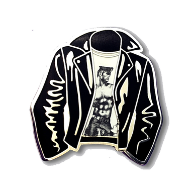 Leather Jacket Pin - The Gay Bar Shop