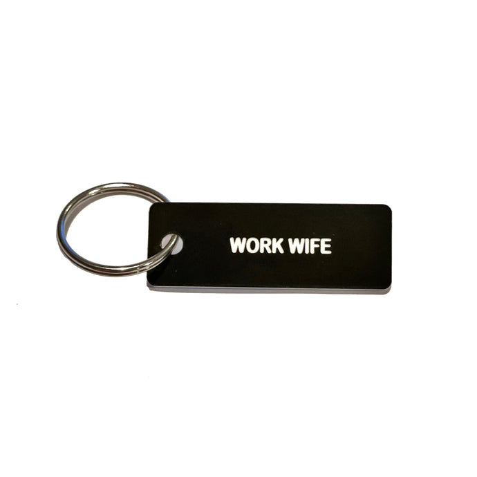 Work Wife Keychain - The Gay Bar Shop