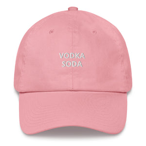 Vodka Soda Dad Hat - The Gay Bar Shop