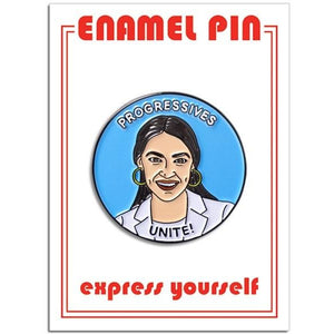 AOC Pin - The Gay Bar Shop