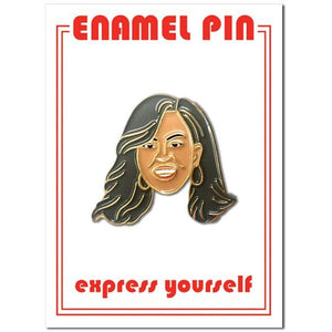Michelle Obama Pin - The Gay Bar Shop