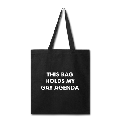 Gay Agenda Bag - The Gay Bar Shop