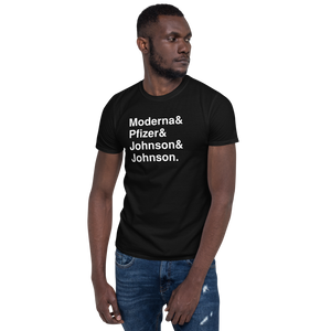 Vaccine Tee Black - The Gay Bar Shop